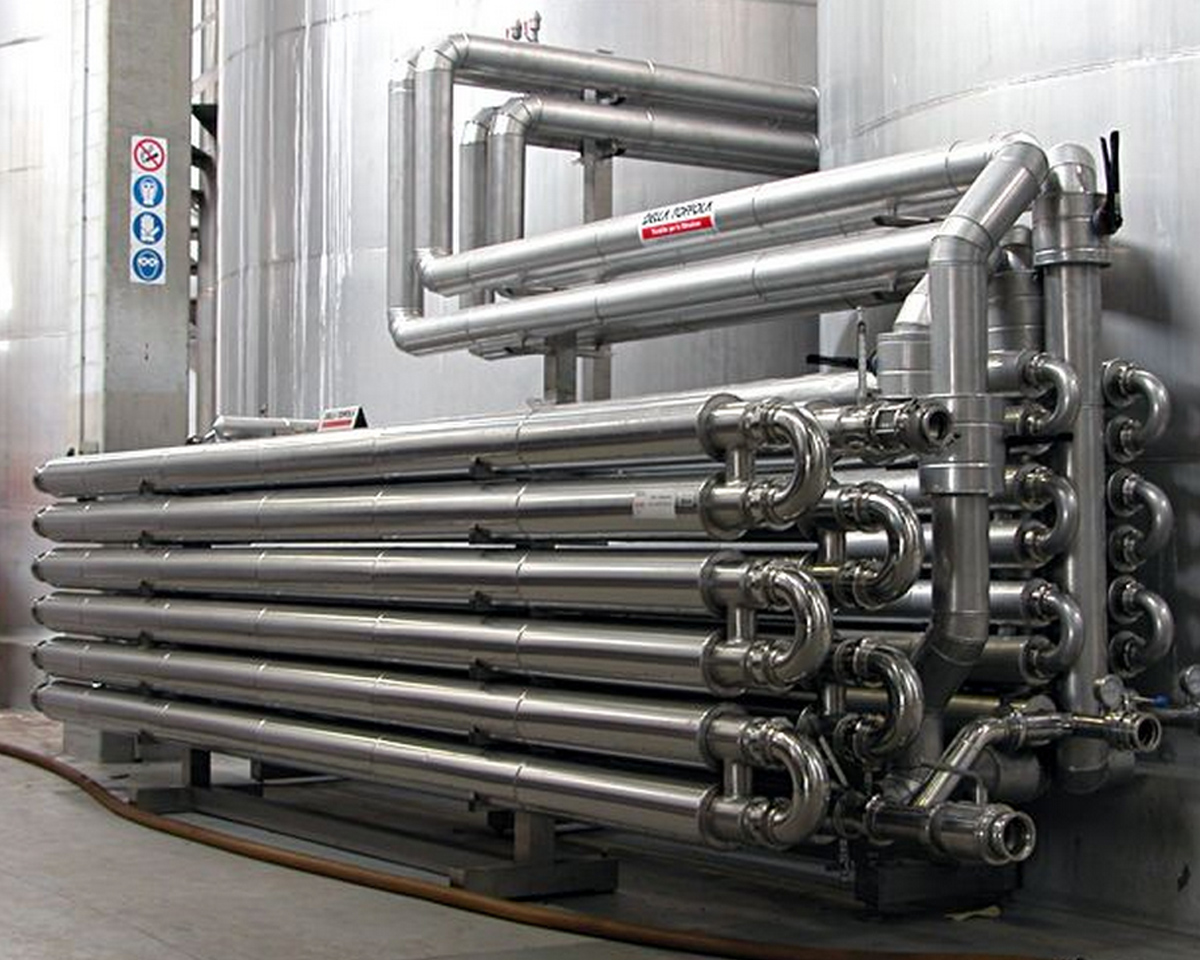 Tube In Tube Heat Exchangers Della Toffola Pacific